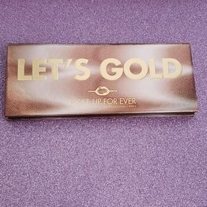 Makeup Forever Let's Gold Eyeshadow Palette
